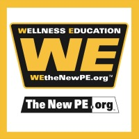 WE the New PE Universal Tag Program Logo