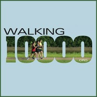 Walking 10000 Steps Program Logo